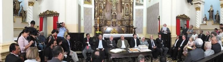 Pressekonferenz der Wahrheitskommission von Pernambuco / conferência de imprensa da  comissão de verdade