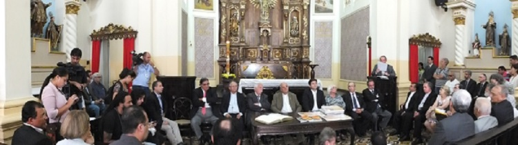 Press conference of the Regional truth commission Dom Hélder Câmara, 27/05/14