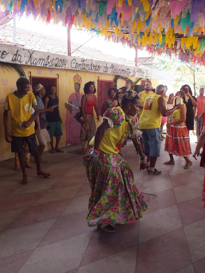 Coco festival at the terreiro de Xambá in Olinda, July 2014