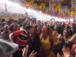 Coco festival at the terreiro de Xambá in Olinda, July 2014
