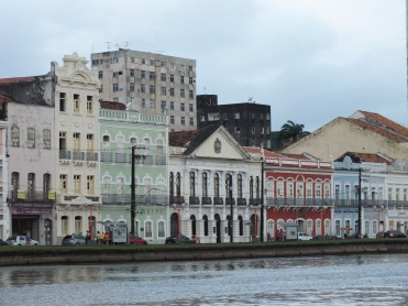 Front facade of former DOPS in Recife