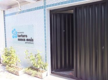 Tortura Nunca Mais: Recife Office, June 2014, entrance