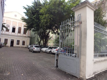 Back facade of former DOPS in Recife