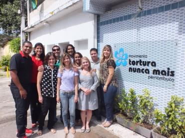 Today's team at Tortura Nunca Mais, Pernambuco