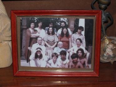 Picture of the Arraes familiy at the Miguel Arraes Institute